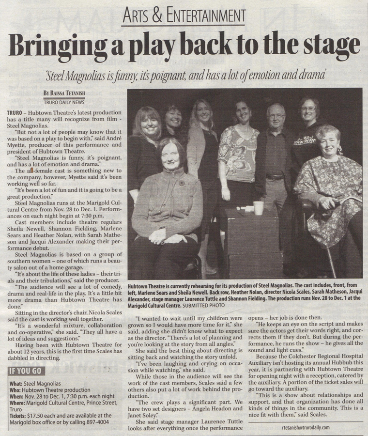 theater newspaper articles